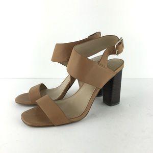 Ann Taylor Margo Tan Sandals Size 7.5
